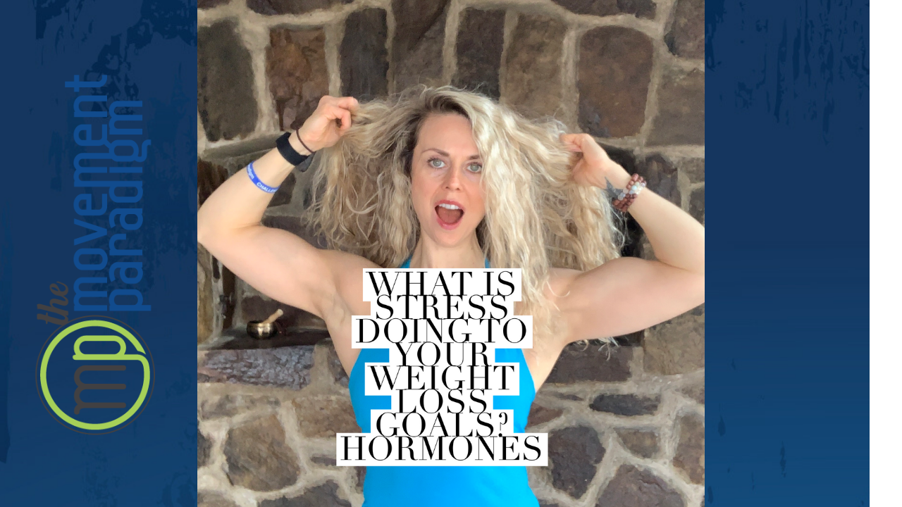 What is stress doing to your weight loss goals?  I  Hormones