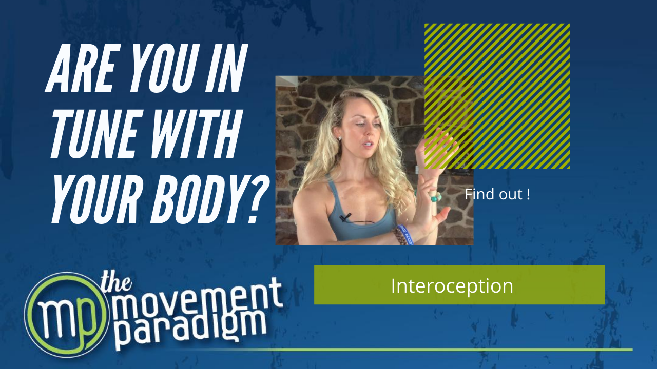 Are you in tune with your body? | INTEROCEPTION