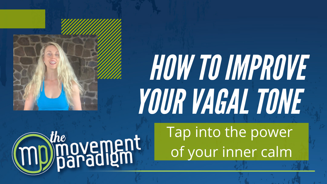 HOW TO IMPROVE YOUR VAGAL TONE | 9 ways to stimulate your vagus nerve