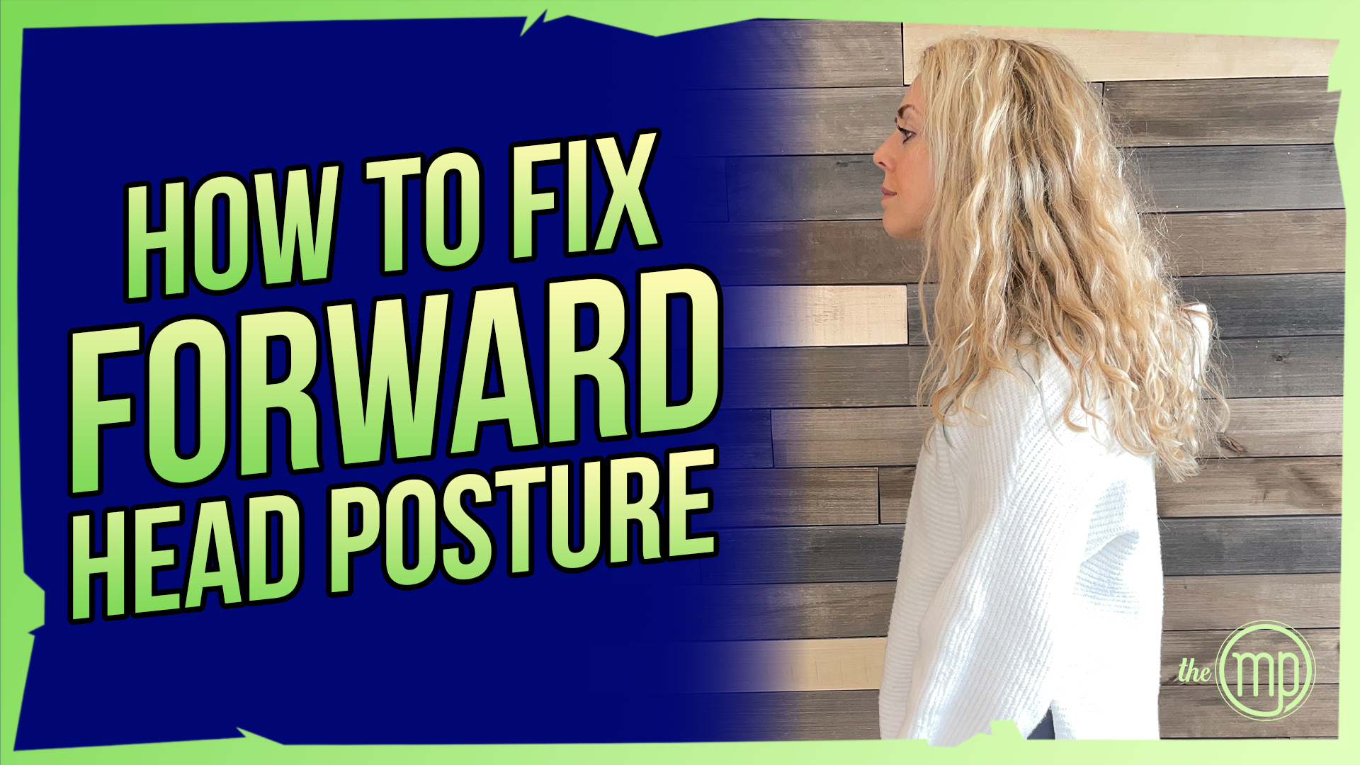 How to fix your forward head posture | Cranial nerves